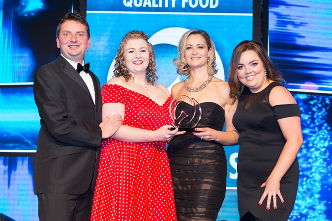 BWG Foodservice Fruity Grain Salad wins best in class!
